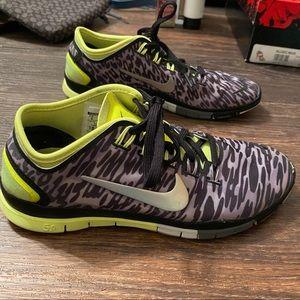 Zebra Nikes
